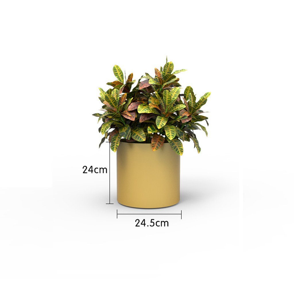 L;IAN - Soporte de Flor para jardín de Estilo Europeo (Maceta con ...
