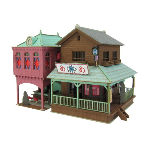 [Miniatuart] Limited Edition `Spirited Away` Strange Town 2 (Unassembled Kit) 1/150 by Sankei