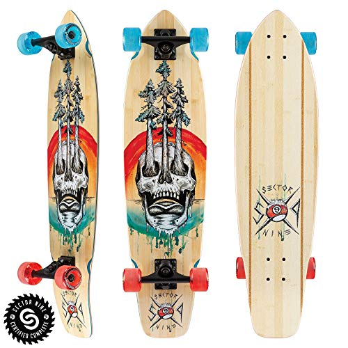 Sector 9 Mens Danger Fort Point Complete Skateboard, Assorted, ()