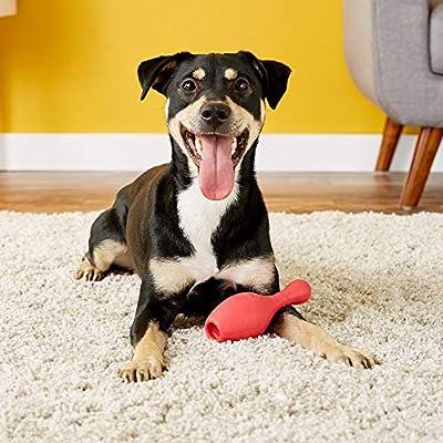JW Pet- iSqueak Bouncin' Bowlin Pin Dog Toy, Assorted Colors, 1 Unit