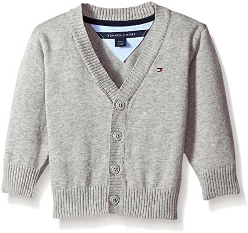 Tommy Hilfiger Baby Boys' Long Sleeve Liam Cardigan