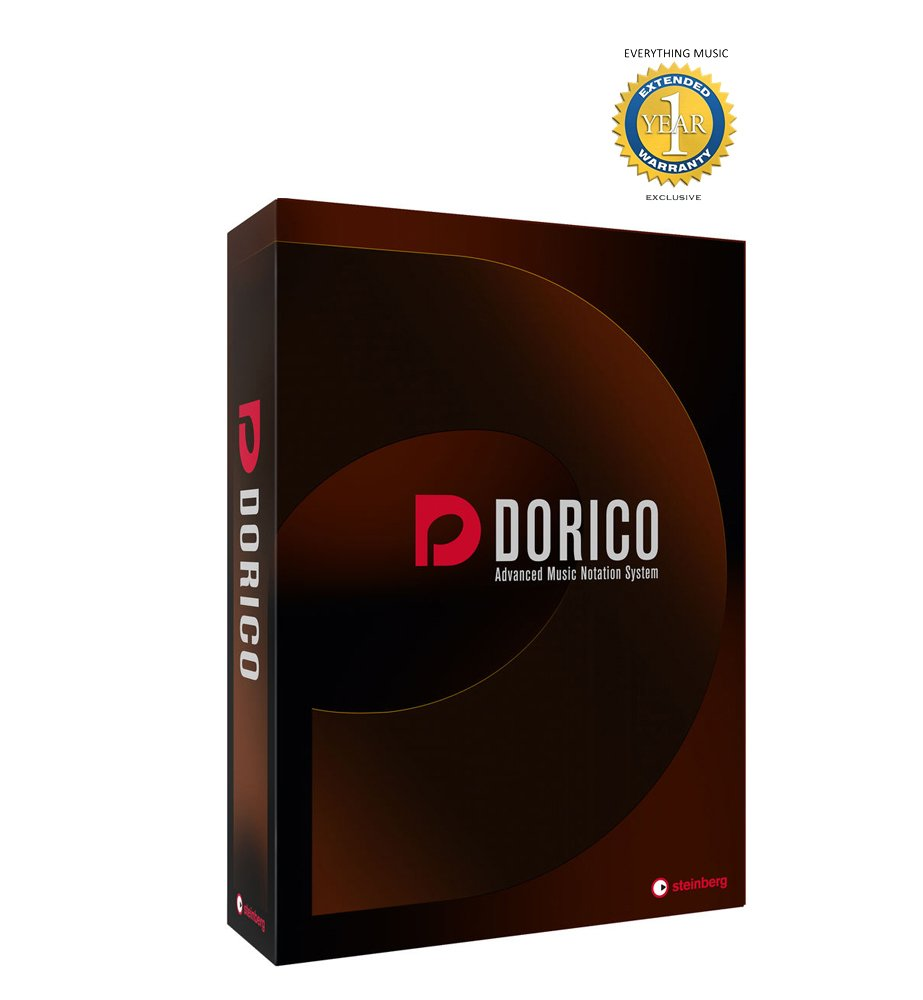 Steinberg Dorico Music Notation Software Retail with 1 Year EverythingMusic Extended Warranty Free