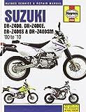 Suzuki DR-Z400/DR-Z400E/DR-Z400S & DR-Z400SM 2000-2010 Repair Manual (Haynes Automotive Repair Manuals) 1st edition by Haynes (2012) Hardcover
