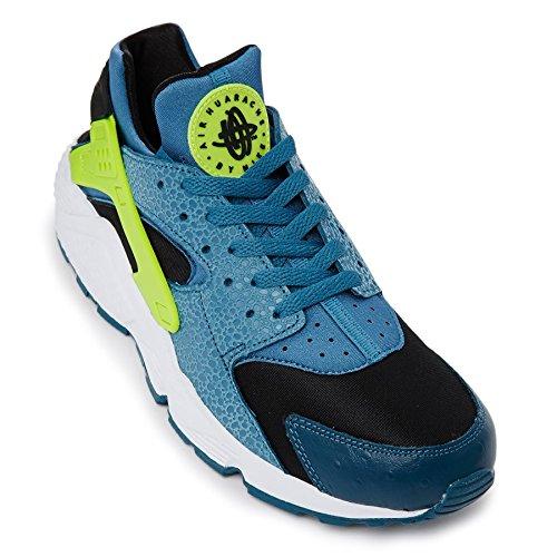 Nike Hombres Air Huarache Espacio Azul Y Volt 318429 Trainer 318429 Volt 043 fe0c33