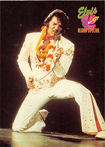 Elvis Presley trading card 1992 Collection #465 1973 White Jump Suit on ()