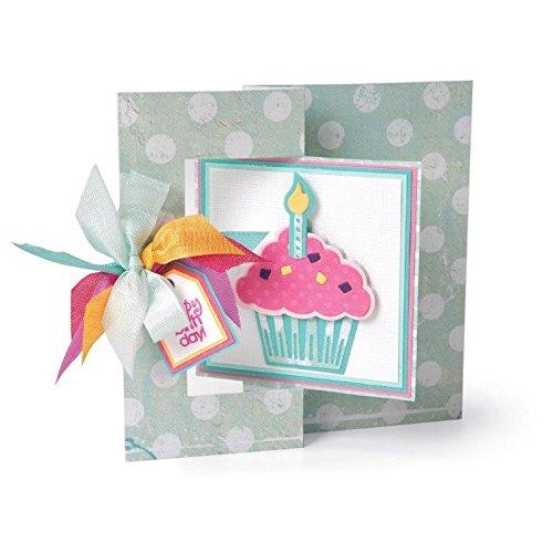 Sizzix Cupcakes Triplits Dies by Stephanie Barnard, 9-Pack by Sizzix