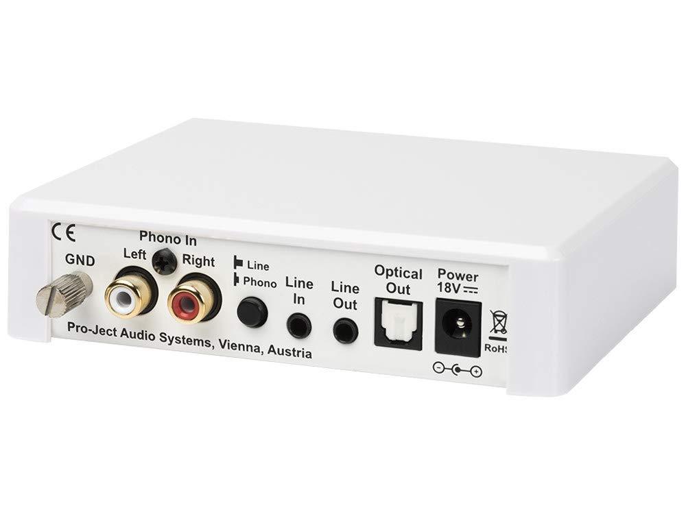 Pro Ject Optical Box E Phono Weiss
