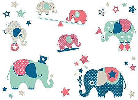 Anna Wand Wandsticker Elefanten Boys Wandtattoo Fur Kinderzimmer