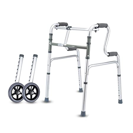 POEO Andador de Andador Plegable Compacto Soporte for ...