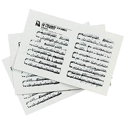 Dollhouse Miniature Sheet Music: Toys & Games