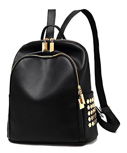 Respeedime - Bolso mochila para mujer Mixed Black Medium negro