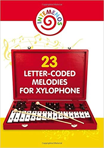 23 Letter Coded Melodies For Xylophone 23 Letter Coded Xylophone