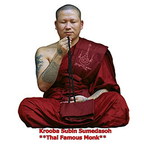Good Luck Business Jewelry Magic Pendant Phrai Mae Tongkaam Naa Nah Tong Riagtraab Raabchock Amulet by Kruuba Subin by Amulet Land (Image #3)'