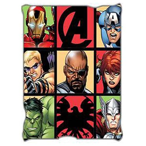 AvengersグリッドThrow Blanket B00XNQUJ1I