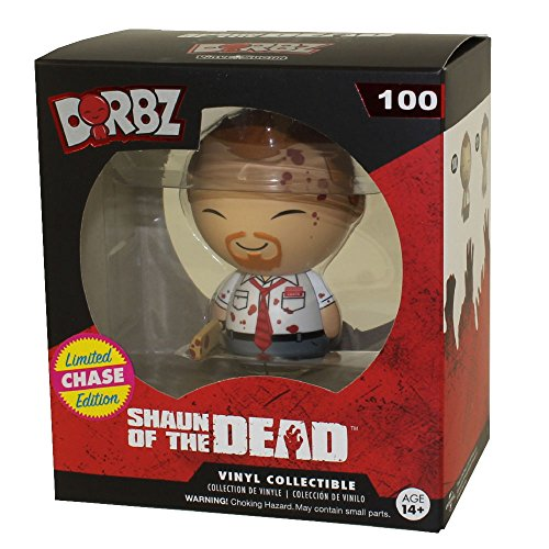 """Funko Shaun of the Dead Dorbz Shaun 3"""" Vinyl Figure #100 [Bloody, Limited Edition Chase]"""
