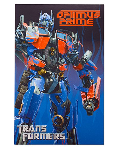 American Greetings Transformers Birthday Card for Boy with - Card Birthday Transformers