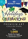 Royalty-Free Premium Holidays & Celebrations Image Collection: Top-Quality ClipArt and Backgrounds To Make Your Scrapbook Designs, Invitations and Other Projects FESTIVE!! (for MAC) [Download]