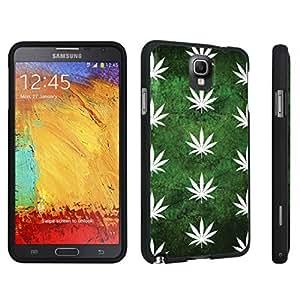 DuroCase ? Samsung Galaxy Note 3 Hard Case Black - (Green Plants)