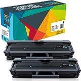 Do it Wiser Compatible Toner Cartridge Replacement for MLT-D111S Samsung Xpress M2020W M2070 M2070FW M2020 M2022 M2022W M2026   2 Pack