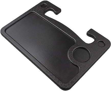 Osister7 Lenkrad Schreibtisch Einfach Zu Installieren Auto Tisch Lenkrad Tablett Und Fahrzeugsitz Halterung Für Notebook Laptop Esstisch Ess Tablett Für Das Tesla Model 3 S X Y Küche Haushalt
