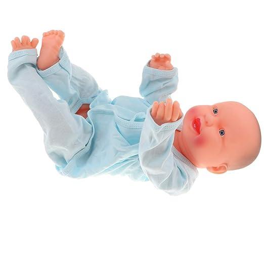 Amazon.com: Fityle - Muñeca de vinilo natural para bebé ...