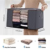 Lifewit Large Capacity Clothes Storage Bag