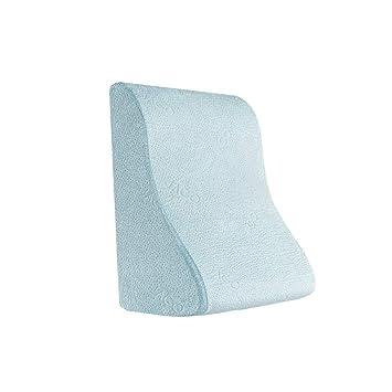 Lumbar pillow Respirable Espuma de Memoria Ergonómico Firme Almohada de Cuello Almohada de Soporte Almohada de Espuma de Memoria de algodón: Amazon.es: ...