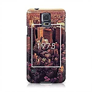 The 1975 The City New York NY Tumblr Hard Plastic Snap-On Case For Samsung Galaxy S5 by runtopwell