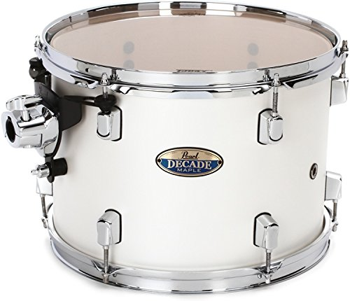 Pearl Decade Maple Mounted Tom - 9 Inches X 13 Inches White Satin Pearl by Pearl