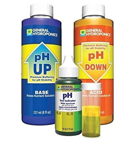 Ph Control Kit - General Hydroponics pH Control Kit