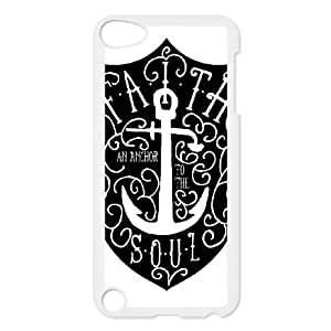 iPod Touch 5 Case White Anchor Quotes Phone cover V92800603