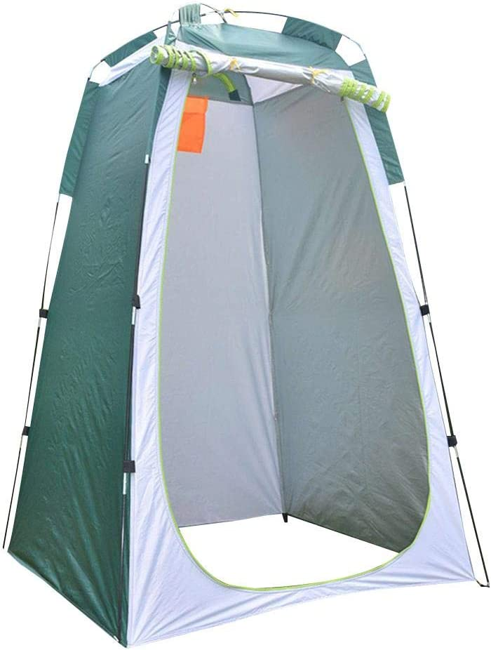 Portable Pop Up Pod, Privacy Pop-Up Tents, Privacy Tents with Carry Bag Ground Pegs and Tent Poles, Instant Camping Shower Tent Changing Room Camp Toilet, Lightweight, Sturdy, Easy Set Up, Foldable