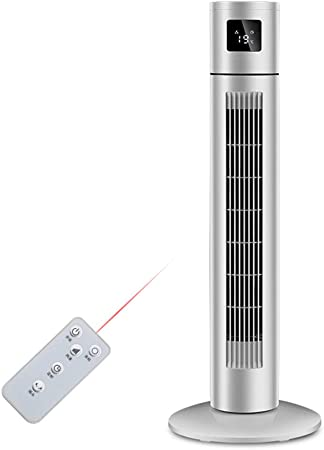 COLER Acondicionador de Aire Ventilador Torre Sin aspas Enfriamiento, Enfriadores evaporativos con deshumidificador Enfriador Aire frío Simple Remoto Temporizador para hogar Oficina: Amazon.es: Hogar