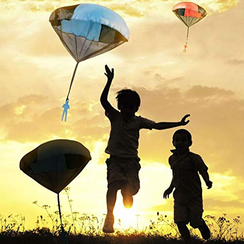 Caiuet Cartoon Soldier Shape Parachute Toys Kids Outdoor Fun Game Kites by Caiuet (Image #1)