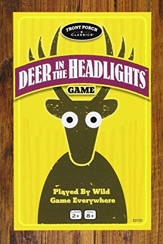 Deer in the Headlights Card - Toy Headlight