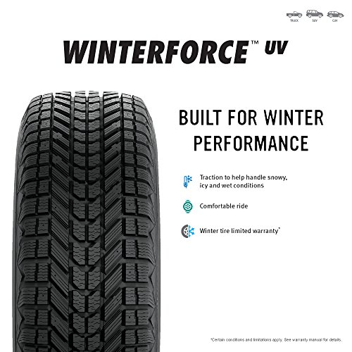Firestone Winterforce UV Winter Radial Tire - 265/70R16 111S by Firestone (Image #2)