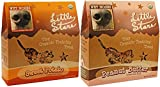 Wet Noses Little Stars Tiny Organic Dog Training Treats in 2 Flavors: (1) Peanut Butter and (1) Sweet Potato (2 Boxes Total, 9 Ounces Each) Larger Image