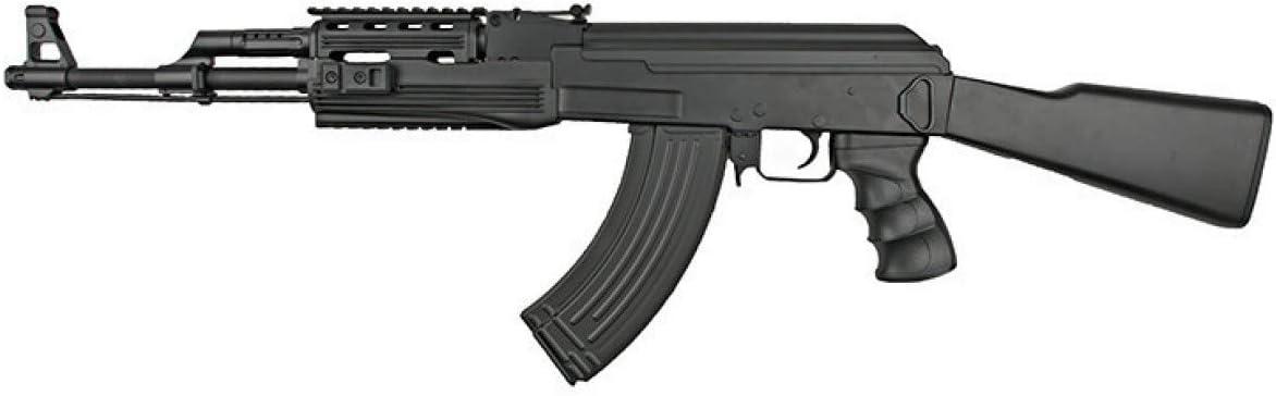 Pack Cyma-CM022A Rifle Airsoft/Plástico de Alta Resistencia/Color Negro/Eléctrico (0,3 Julios) / Semi-Automático