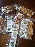 12 Sticks 5-6'' Bulk Bully Jr STEER Sticks Free Range Eco Naturals Grass Fed Argentina