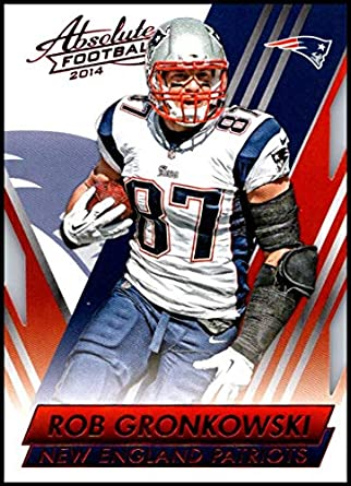 2014 Panini Absolute Retail Red  32 Rob Gronkowski NM-MT New England  Patriots Official 4ff7d2790