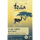 Tega Organic Tea Earl Grey Rooibos 18 Count