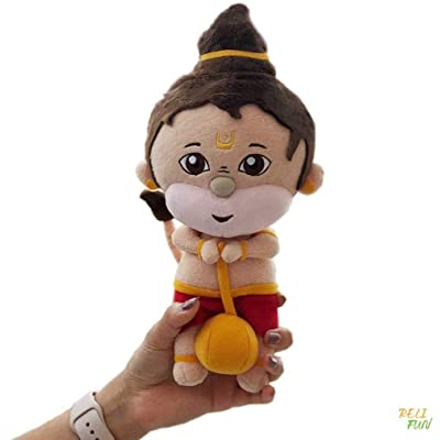 "RELI FUN Baby Hanuman Hindu Plush Religious Toy / Doll for Kids and Adults (10""): Toys & Games"