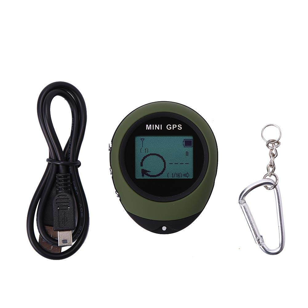 Mini GPS Tracker Locator Personal GPS Navigation Receiver Tracker for Outdoor Hiking Camping Travel
