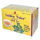 Health King Golden Voice Herb Tea, 20 Count