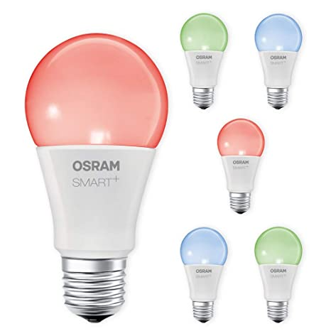 Osram Smart + LED E27 bombilla RGB RGBW regulable LIGHTIFY Echo Alexa compatible Selección – Juego