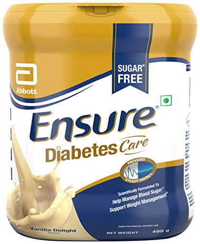 Supplements Nutritional Ensure (Abbott Ensure Diabetes Care Vanilla Delight Flavor - 400 gm (Previously known as Glucerna SR))