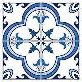 Sticker Tile Stickers Portuguese Carrelage Adhésif Fliesenaufkleber Decals S Carrelage Stair S Peel & Stick Vinyl Adhesive Tiles(Set 12 Units)