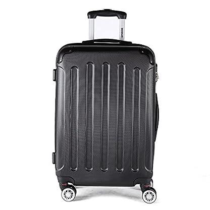 51lwiKuLK9L. SS416  - Beibye 2033 - Juego de 3 maletas rígidas