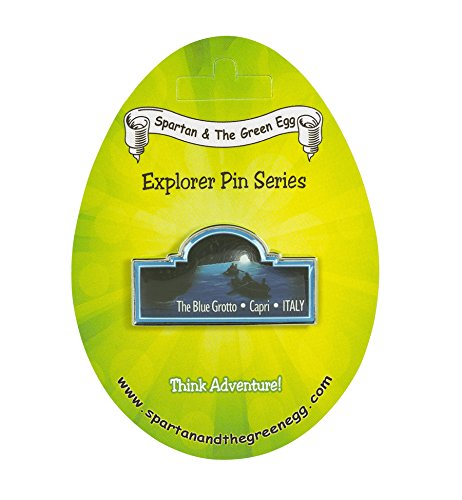 Spartan and the Green Egg Explorer Pin Series: The Blue Grotto - Capri, Italy ()