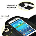 Amtonseeshop Best Price Newly Fashion Sport Gym Running Armband Case for Cellphones (Black for Samsung Galaxy Note 3 2 N9000 N7100)